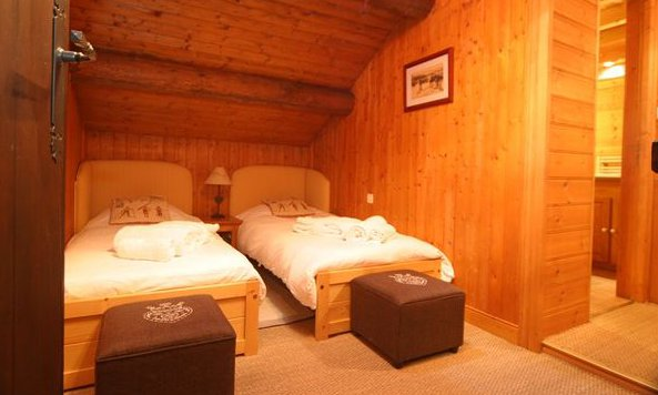 Chalet Marmotton Bedroom