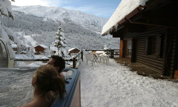 Chalet Marmotton Hot Tub