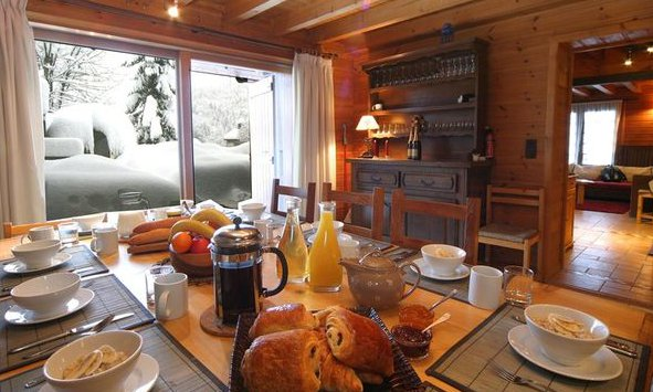 Chalet Marmotton Afternoon Tea