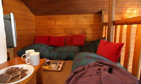 Snug in Chalet Marmotton