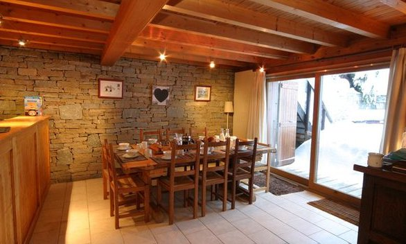 Chalet Marmotton Dining Room