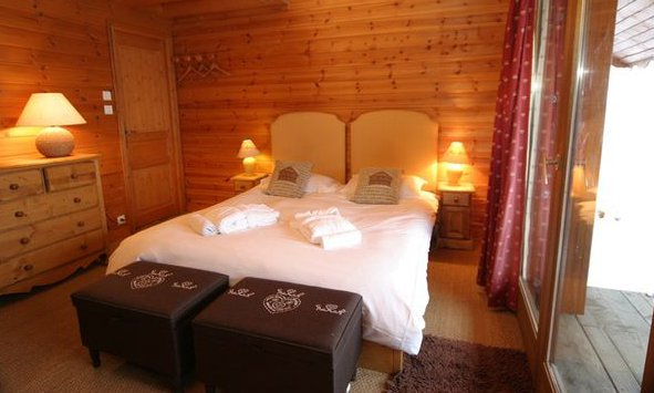 Chalet Marmotton Double Room