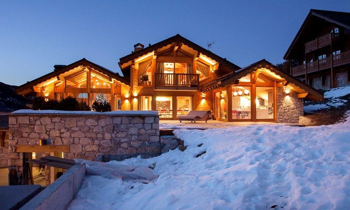 Luxurious Chalet in the Snow