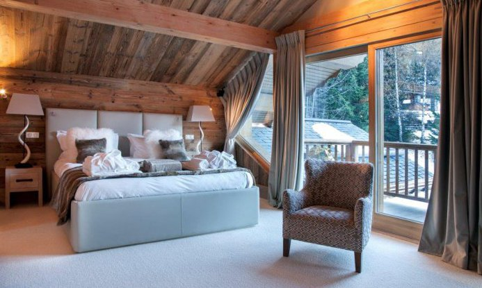 Chalet Mont Tremblant Bedroom