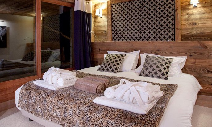Lovely Bedrooms in Chalet Chopine