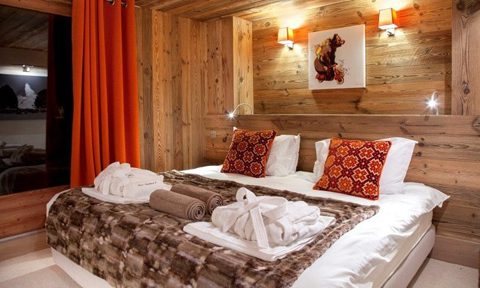 Chalet Mont Tremblant Bedrooms