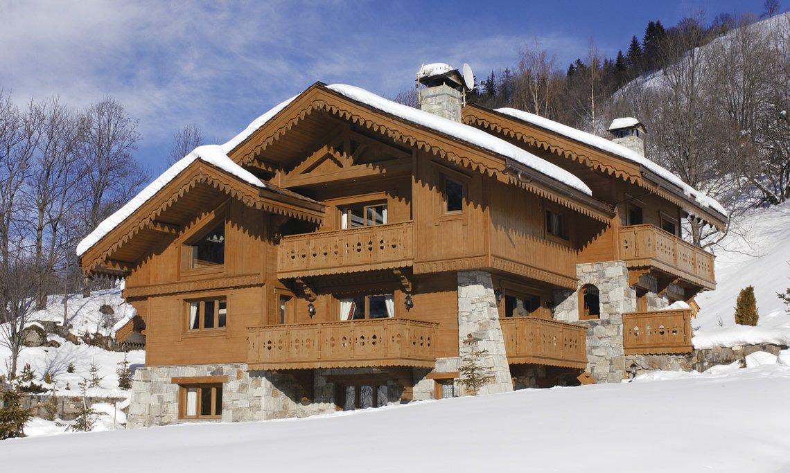 Luxury Chalet Brioche in Meribel