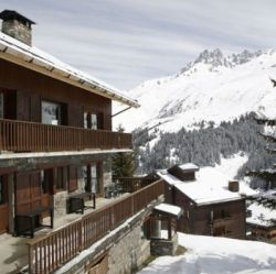Chalet Andre Meribel in the Snow
