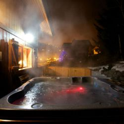 Chalet Bruyere Hot Tub