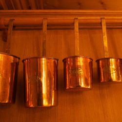 Chalet Bruyere Copper Pots