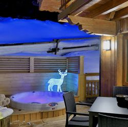 Chalet Carcajou Hot Tub