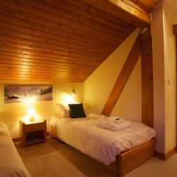 Chalet Cecilia Twin Room