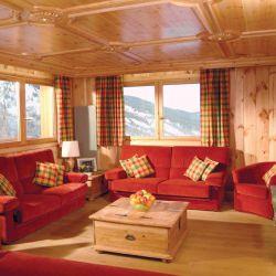Chalet Lancolie Living Area