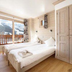 Chalet Le Cedre Blanc Bedroom