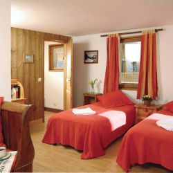 Chalet Lys Blanc Meribel Bedroom