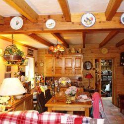 Chalet La Comtesse living area
