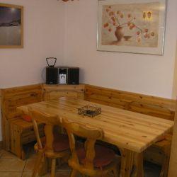 Dining area in Apartment Fermes de Meribel 413 Meribel Village