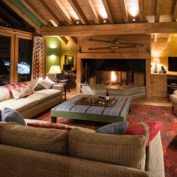 Chalet Moguls Living Room