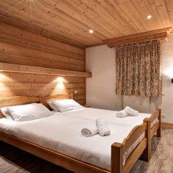 Chalet Elodie Twin Bedroom