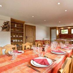 Chalet Elodie Dining Room