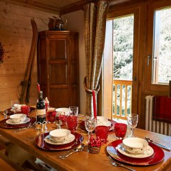 Chalet Annabel Dining Room