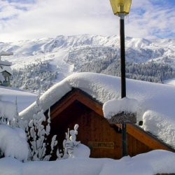 Snowy Chalet Bartavelles