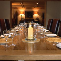Luxury Chalet Dining