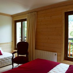 Bedroom with extra bed in apartment Relais 1