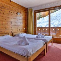 Chalet Natalia 2 Twin Bedroom with Balcony