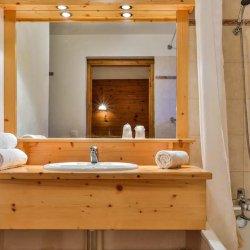 Chalet Natalia 2 Bathroom with bath and shower