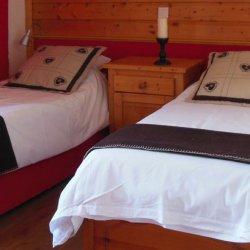 Twin Bedroom Chalet Clementine