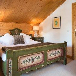 Chalet Dou du Pont double bedroom