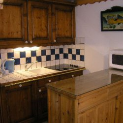 Kitchen area Apartment Fermes de Meribel 413 Meribel Village
