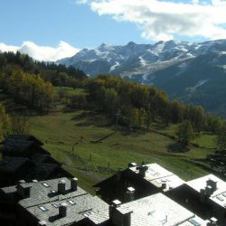 The view from Apartment Fermes de Meribel 413 Meribel Village