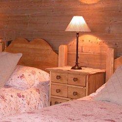 Twin bedroom in Apartment Grange 1