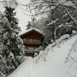 Chalet La Fuge in the Snow