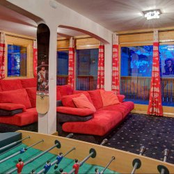 Chalet Laetitia Games and Cinema Room