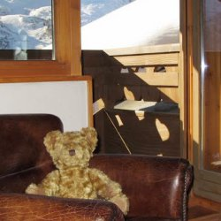 Chalet Balcony and Chalet Bear