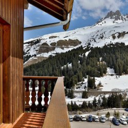 Chalet Leopold Balcony and View