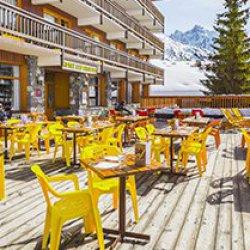 Hotel Les Arolles Terrace