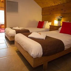 Twin bedroom Chalet Lilas