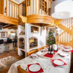 Chalet Meilleur Open Plan Dining Room