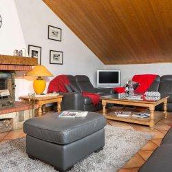 Chalet Noemie Living Room