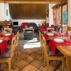 Chalet Noemie Dining Room