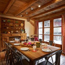 Chalet Sabaudia Dining Room
