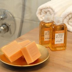 Soaps and shampoos at Chalet Silvanna