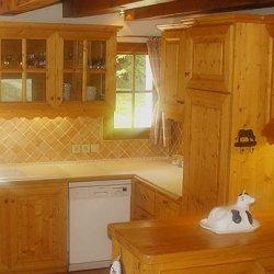 Chalet La Tarine Kitchen