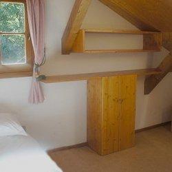 Chalet La Tarine Twin Bedroom