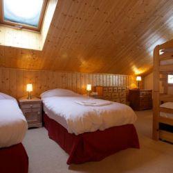 Chalet Quatre Meules Family Room