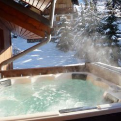 Meribek Chalet Ecureuil Hot Tub
